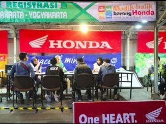 Pendaftaran Mudik dan Balik Bareng Honda 2018