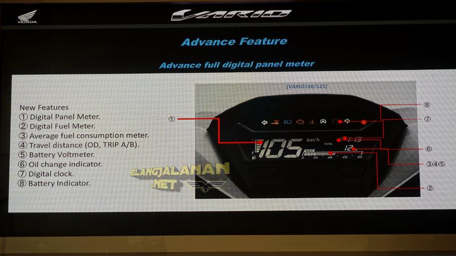 Honda Vario 150 facelift 2018