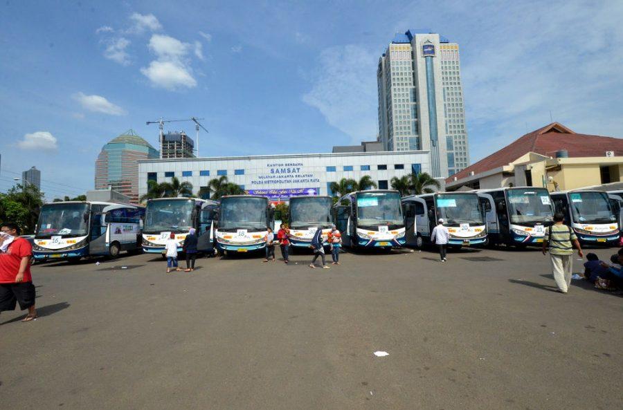 Mudik Bareng Gratis Bareng Wahana 2018, Wahana Sediakan 25 Bus Ekslusif