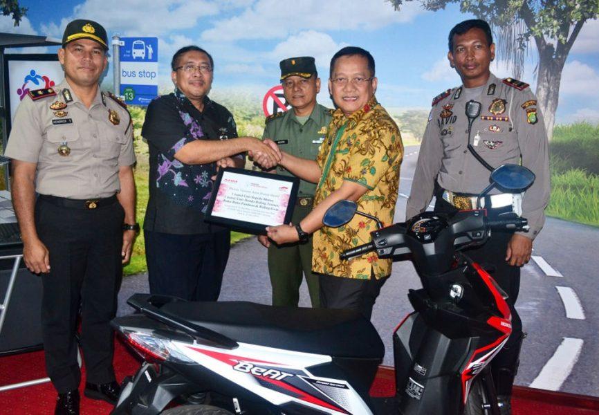 Dukung Peran Duta Keselamatan Berkendara, YAHM Bangun Safety Riding Lab Astra Honda