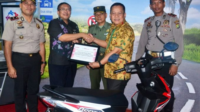 YAHM Bangun Safety Riding Lab Astra Honda