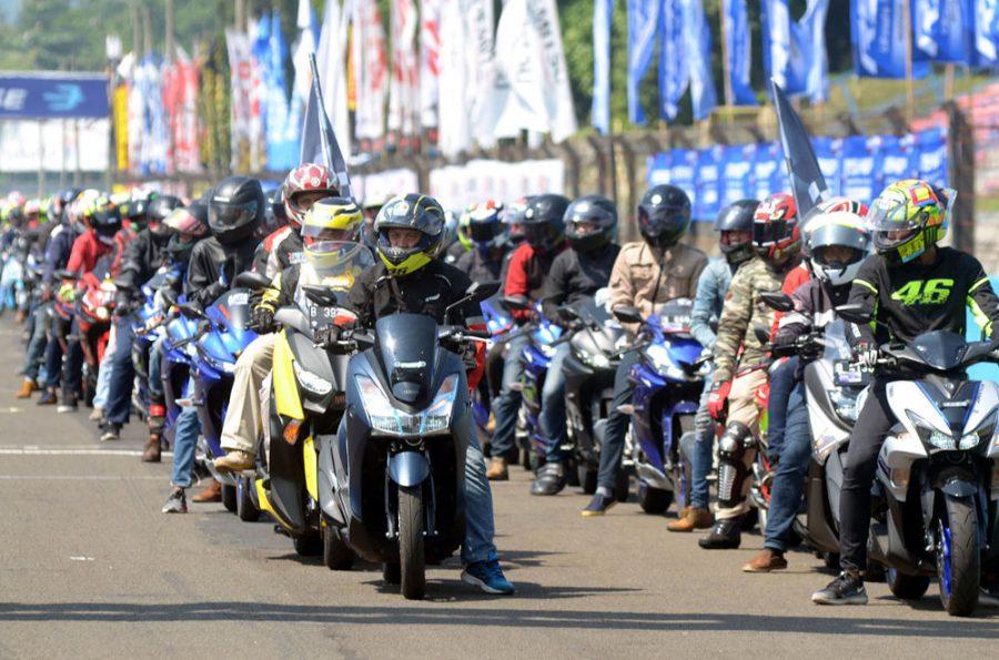 Kemeriahan Yamaha Sunday Race 2018 Seri 2, YROI Jayapura Ikut Ambil Bagian
