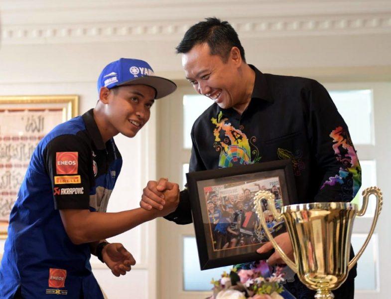 Menpora Apresiasi Galang Hendra, Berharap Bisa jadi Valentino Rossi-nya Indonesia