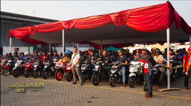 Pengangkutan Motor Mudik Bareng Honda