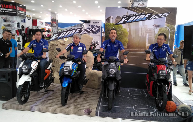 Launching Yamaha X-Ride 125