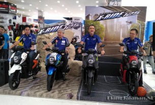 Launching Yamaha X-Ride 125