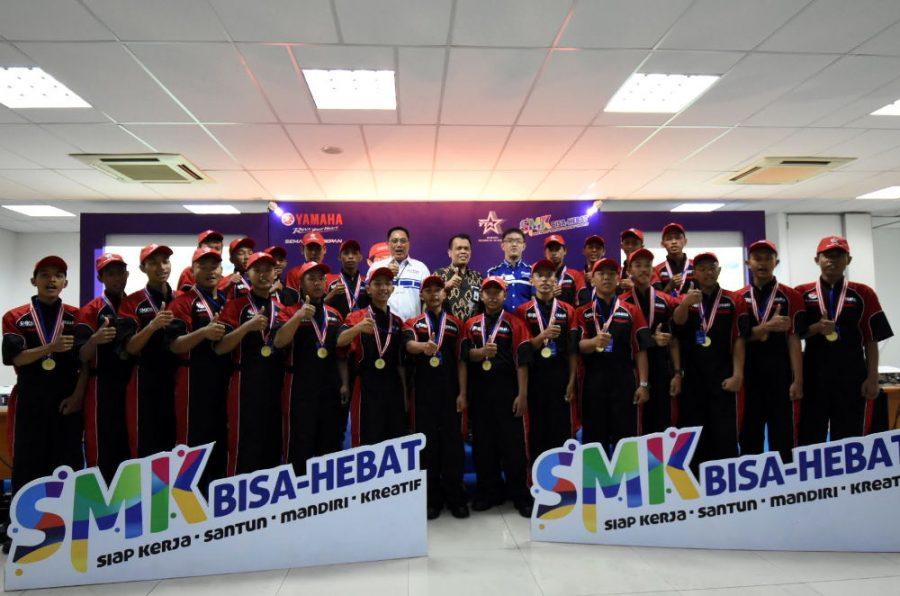 Kontes SMK 2018 Semarang: Pembuktian Kualitas SMK Kelas Khusus Yamaha Setara dengan Lulusan YTA
