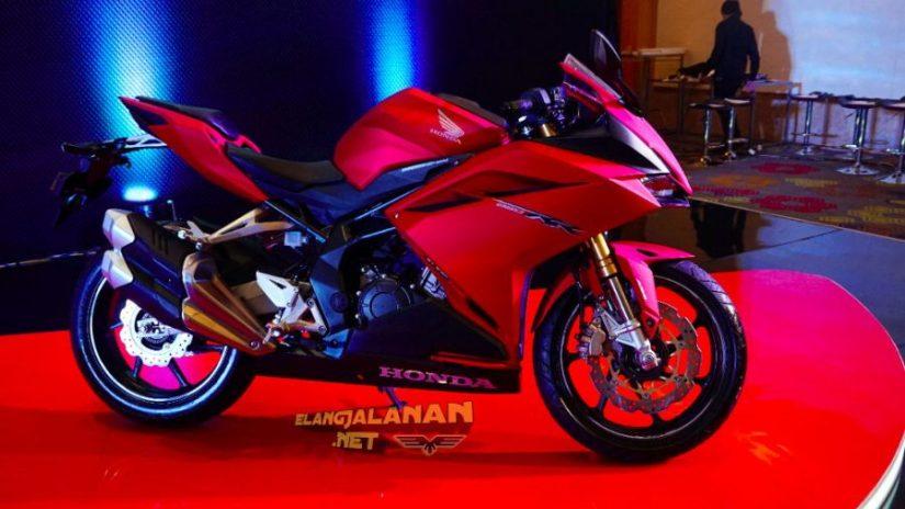 new cbr250rr warna Bravery Mat Red