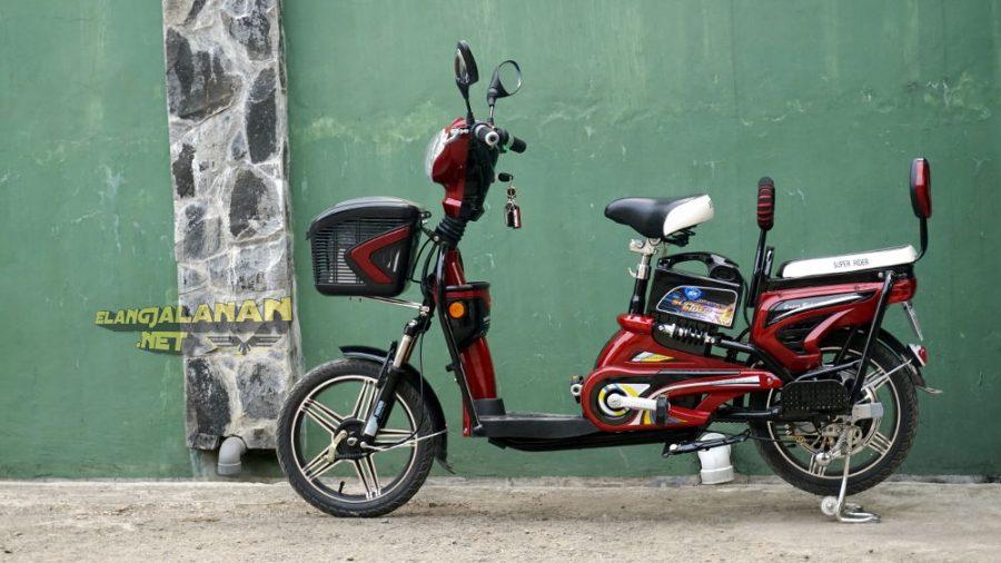 Berkenalan dengan Sepeda Listrik Super Rider Earth Platinum, Mainan Baru yang Asyik