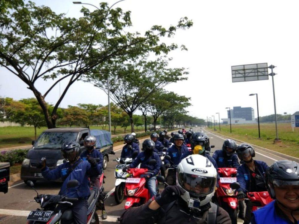 Jajal Suzuki NEX II dalam tema City Riding