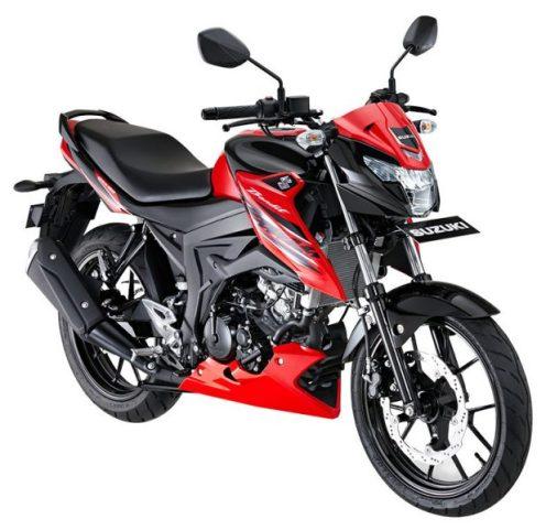 Suzuki GSX150 Bandit Red