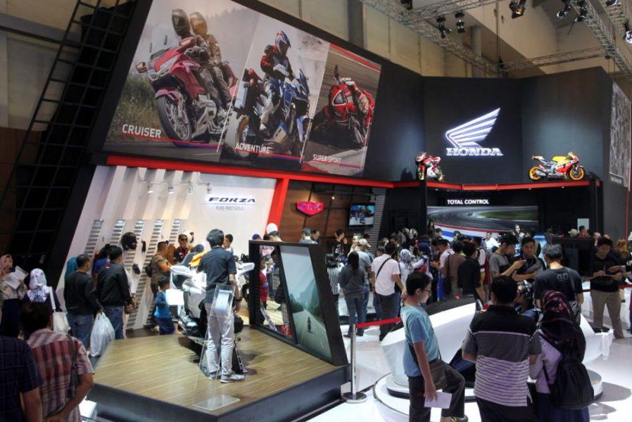 1000 Motor Honda Terjual selama GIIAS 2018, Honda Forza Paling Laris