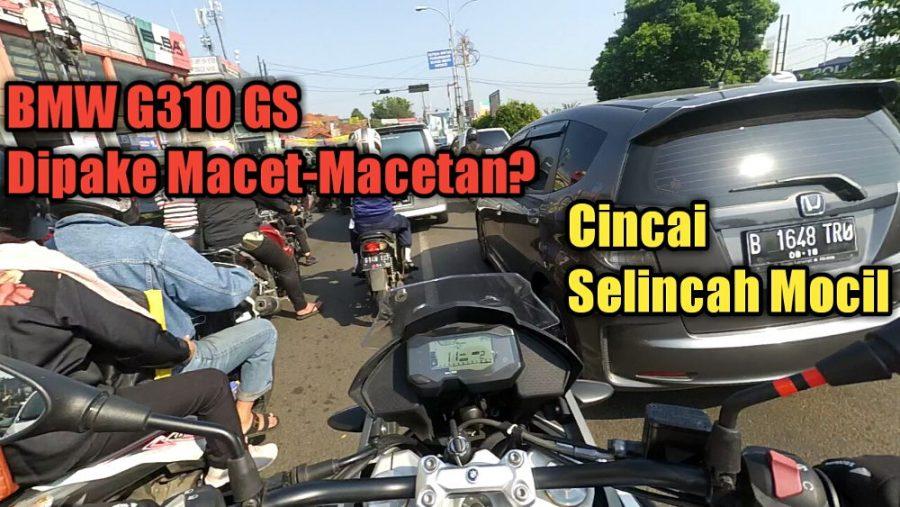 Vlog: Test Kelincahan BMW G310 GS Melibas Kemacetan Jakarta