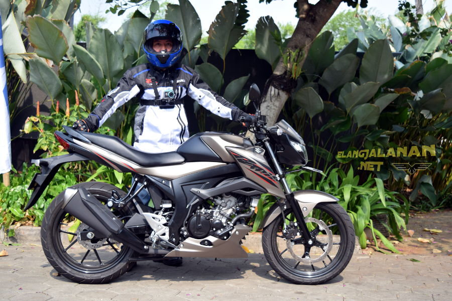 Test Ride Suzuki GSX150 Bandit