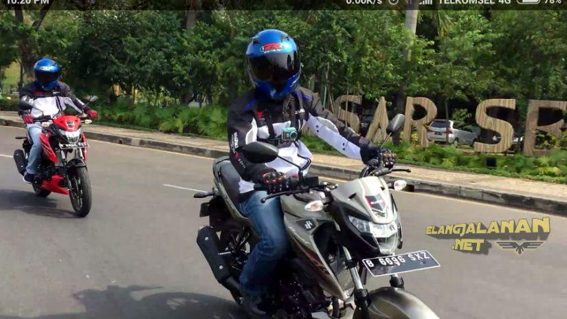 Test Ride Suzuki GSX150 Bandit