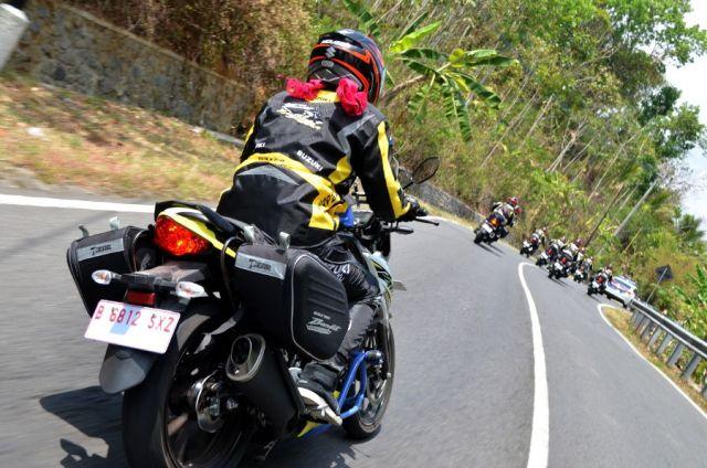 Etape Ketiga Touring Suzuki GSX150 Bandit