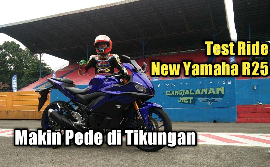 Test Ride New Yamaha R25