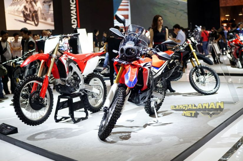 Motor Baru Penuh Inspirasi Hadir di Booth Honda