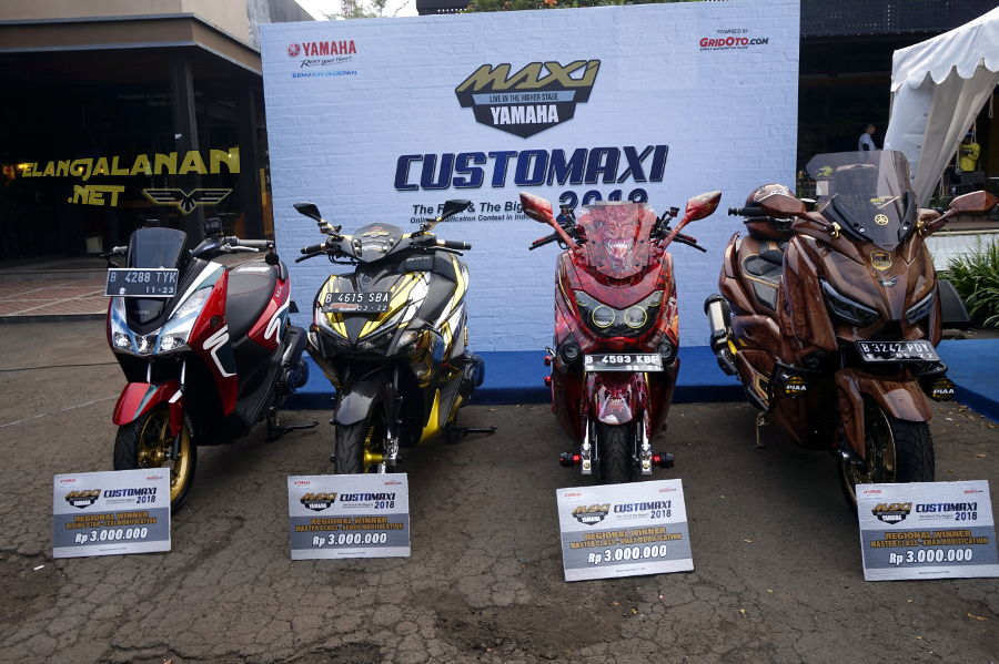 CustoMAXI Yamaha 2018 Kota Bekasi