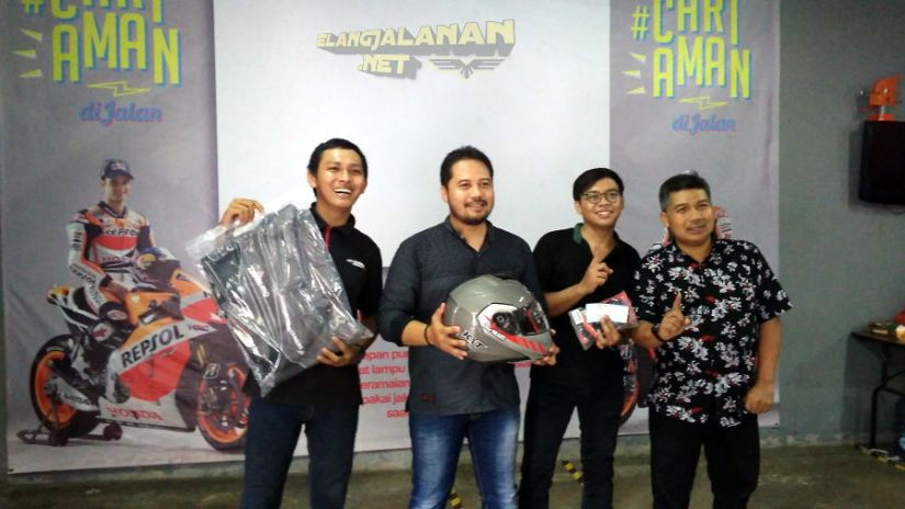 Kompetisi Safety Riding Blogger Vlogger