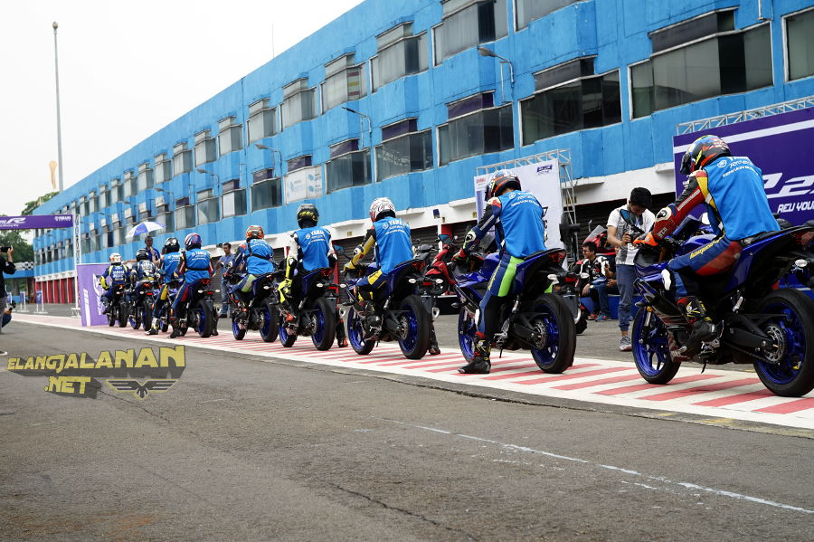 Yamaha Gelar Media Test Ride Yamaha R25