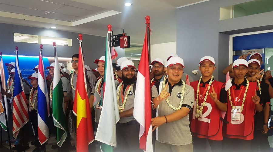 Honda Asia-Oceania Motorcycle Technician Skill Contest 2018, 4 Teknisi AHASS Lolos