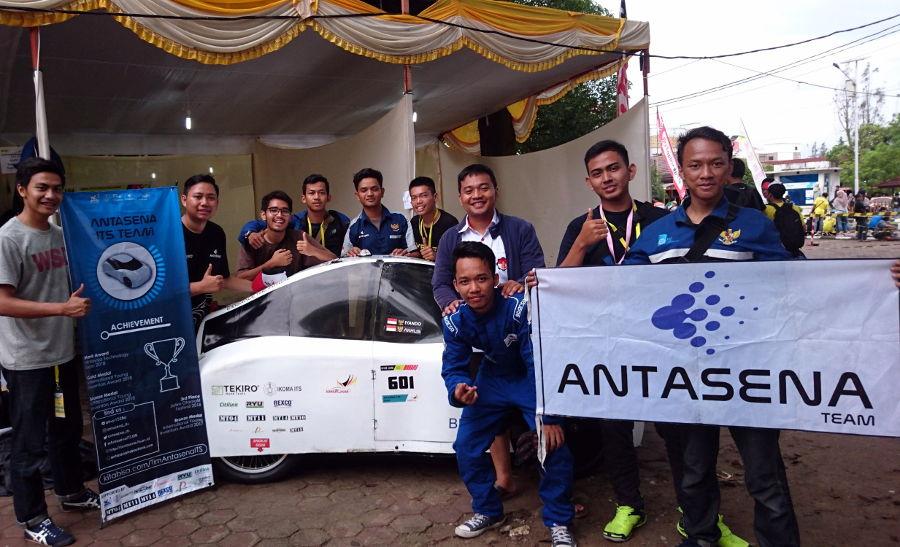 Tekiro dukung Tim Antasena ITS di Kontes Mobil Hemat Energi Nasional