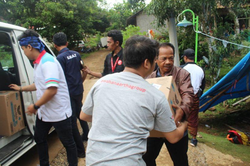 Aksi Peduli Bencana Tsunami Selat Sunda