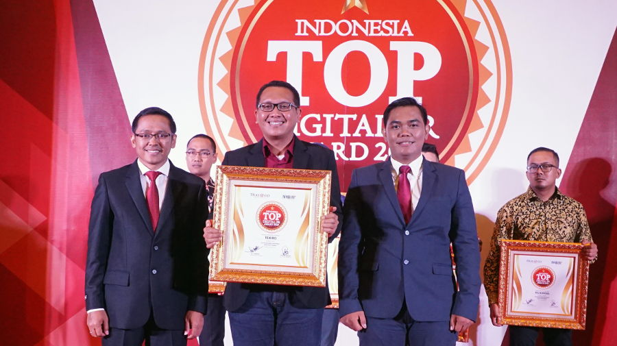 Tekiro Raih Top Digital Public Relation Award