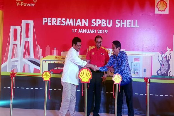 Mantap, Shell di Surabaya Buka Lagi Sob