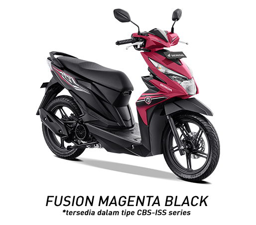 Warna Baru New Honda BeAT