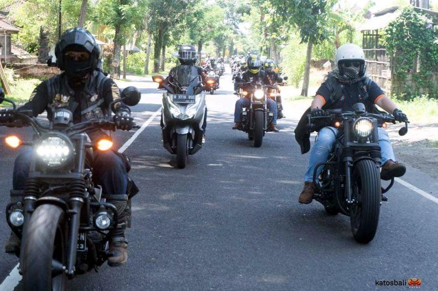 Rebel Owner Community (ROC) Ketagihan Ulangi Touring Jakarta Bali