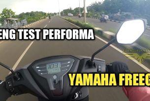 Test Performa Yamaha Freego