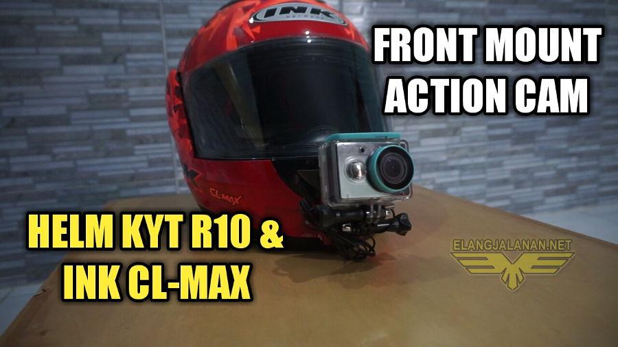 Pasang Action Cam di KYT R10