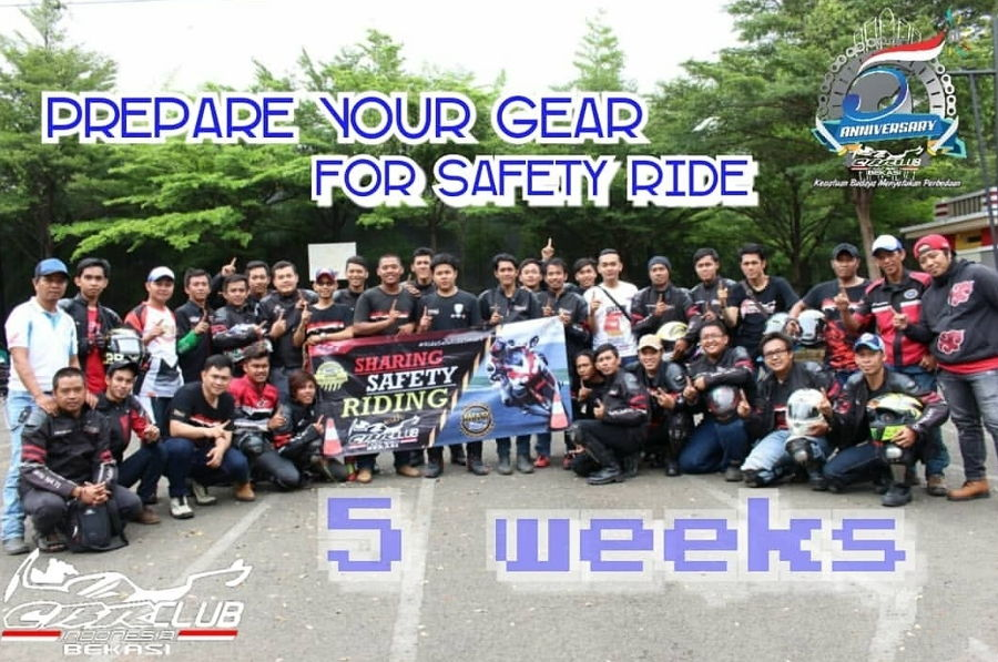 Jelang 5th CBR CLUB INDONESIA Region Bekasi, Agendakan Pawai Budaya dan Safety Riding