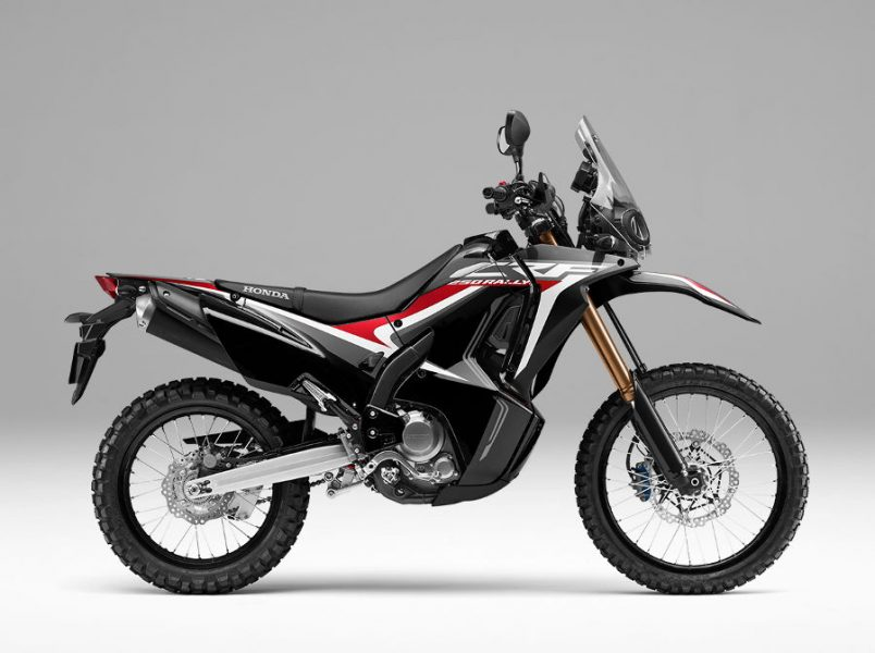 Warna Baru Honda CRF250RALLY