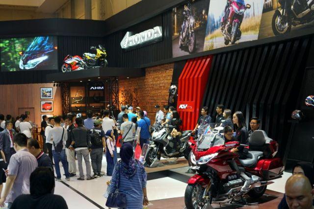 Booth Honda GIIAS 2019