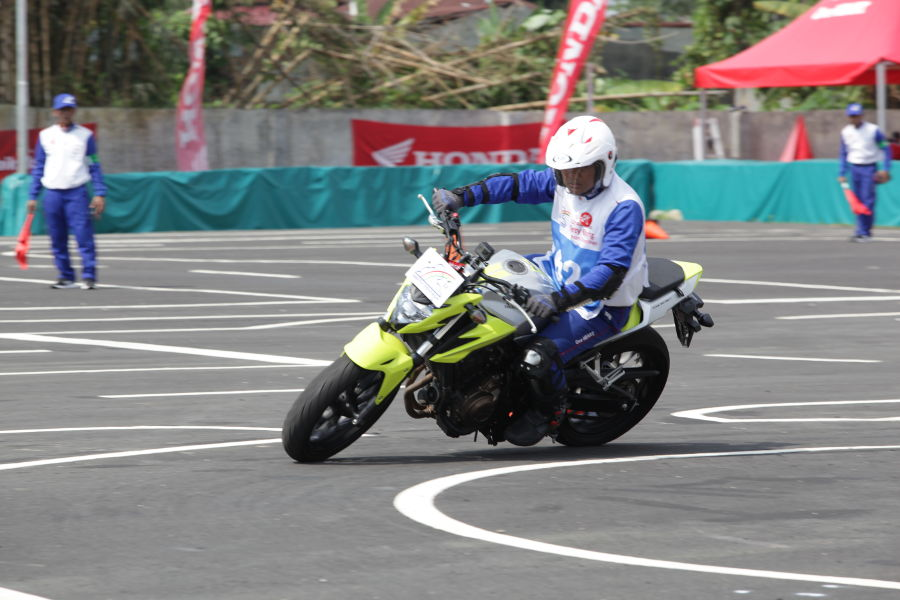 Galeri Foto Astra Honda Safety Riding Instructor Competition (AH-SRIC) Medan