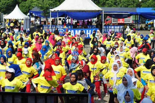 Activity Pengunjung Yamaha Endurance Festival