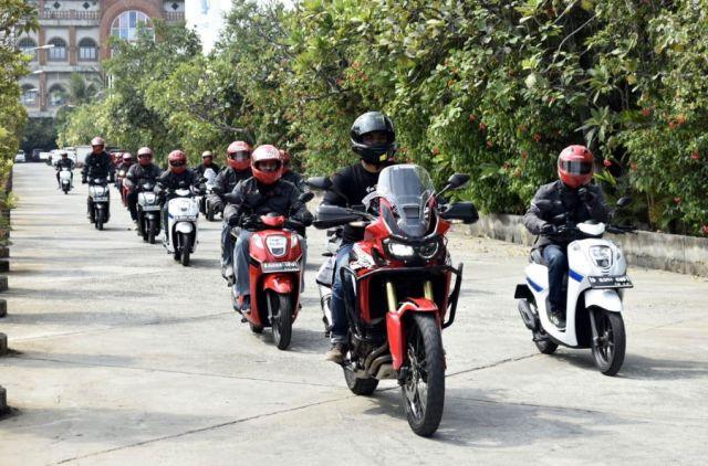 Fun Touring Honda Genio Museum Jakarta