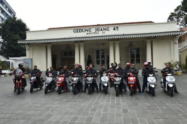 Fun Touring Museum Joang 45 Honda Genio