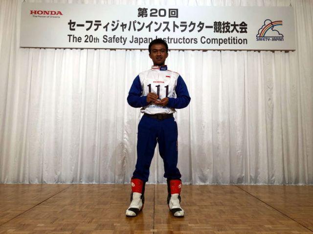 Samsul Falah Juara 3 Kelas 125cc