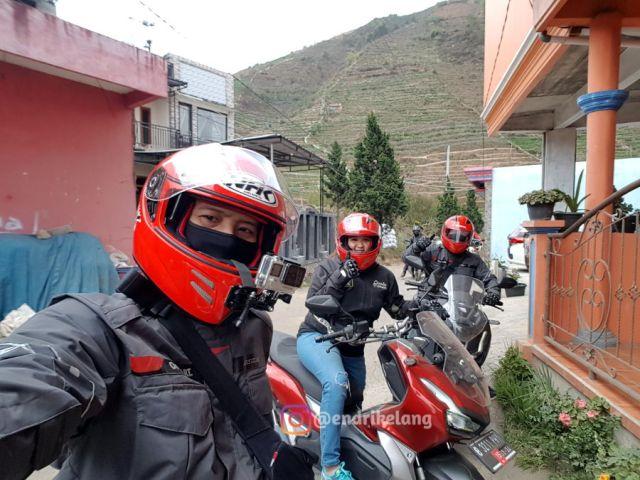 Touring Dieng Honda ADV 150 Blogger