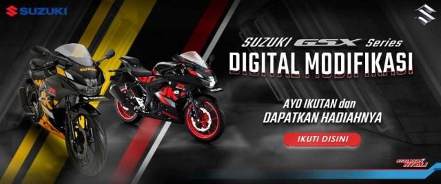 Suzuki GSX Digital Modifikasi