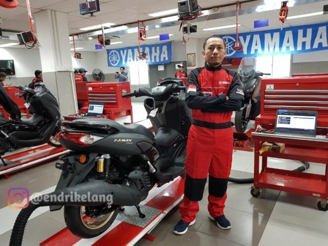 Engine Check di New NMAX Nyala
