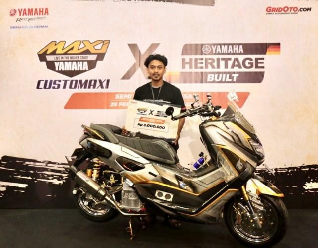 Customaxi Yamaha Makassar