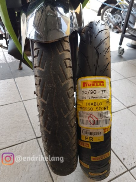 Icip Icip Ban Pirelli Diablo Rosso Sport Di Mx Strada Elangjalanan Net