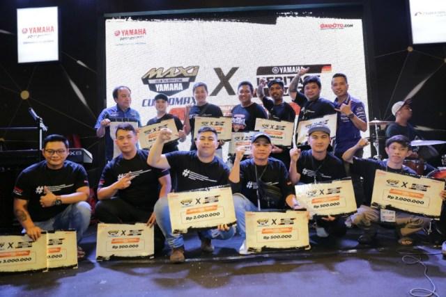 Pemenang Customaxi Yamaha Pontianak