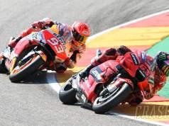 Bagnaia Juara MotoGP Aragon