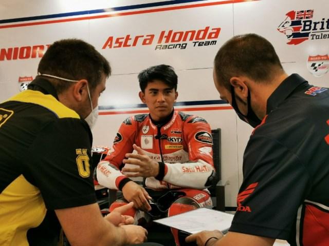 Mario Pembalap Astra Honda